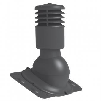 Универсальный вентиляционный выход KUO-1 (125 мм), утепленный